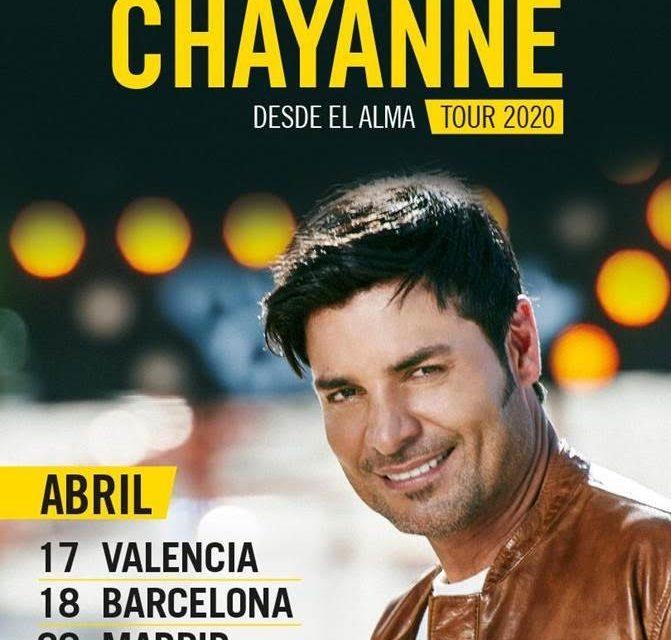 """Chayanne actuará el 20 de abril en Madrid con su tour """"Desde el alma"""""""