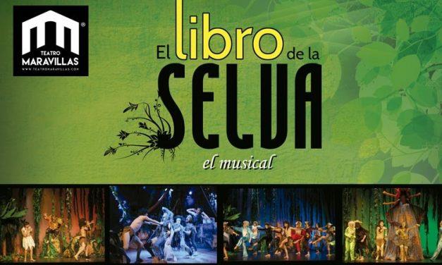 """""""El Libro de la Selva"""", hasta el 12 de abril en el Teatro Maravillas"""