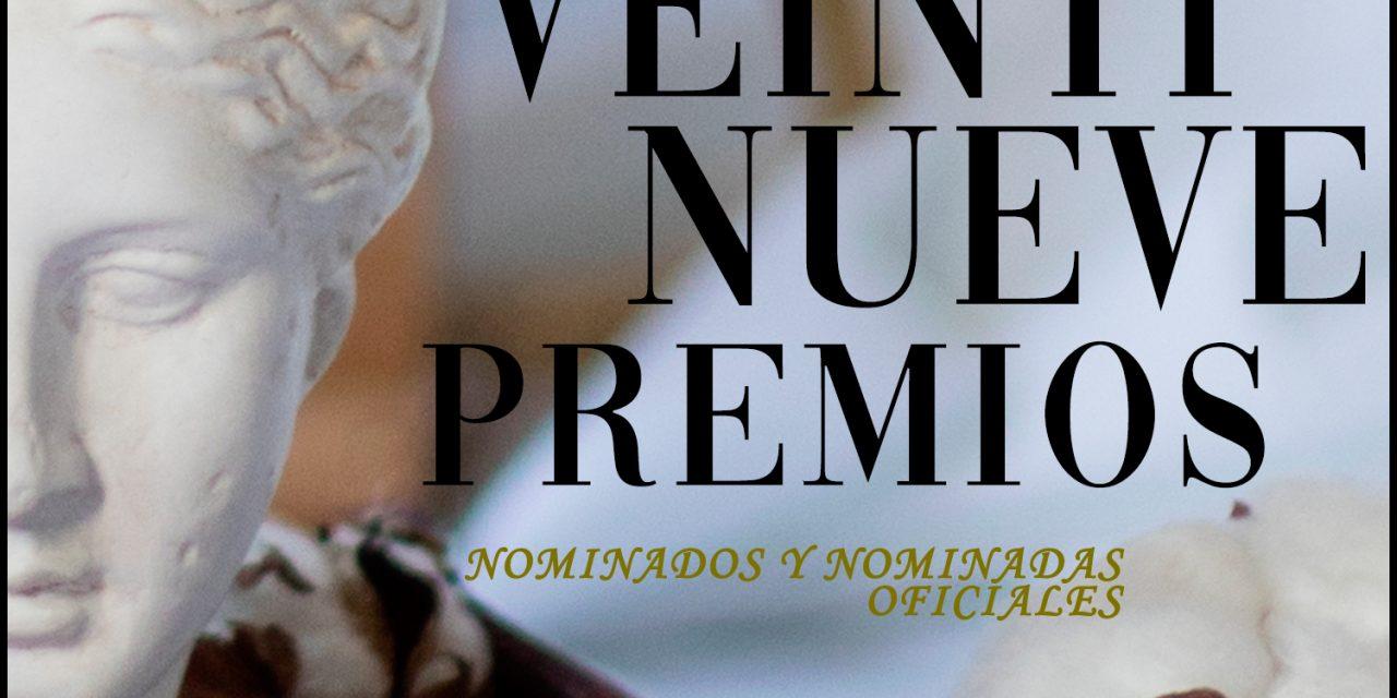 Conoce a los nominados y nominadas oficiales de los 29 Premios de la Unión