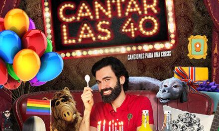 'Cantar las 40', monólogo musical protagonizado por Manuel Ramos con Jaime Zelada al piano, llega a los Teatros Luchana